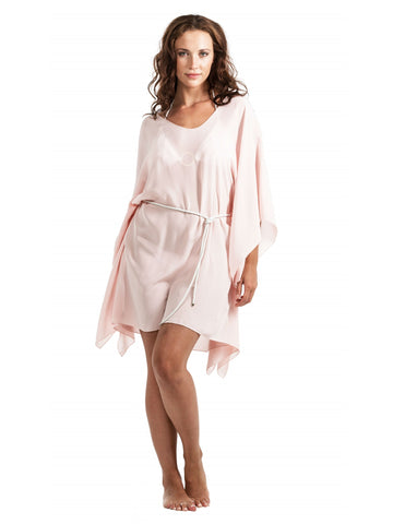 Cover-up - Leather Belt - Blush