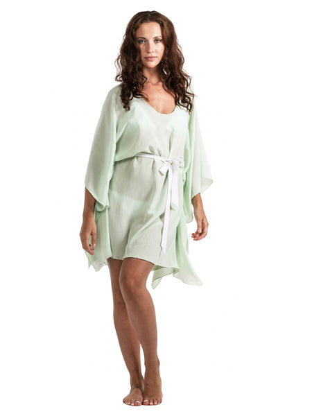 Cover-up - Silk Tie - Mint