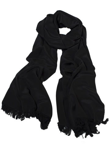 Large Scarf - Black