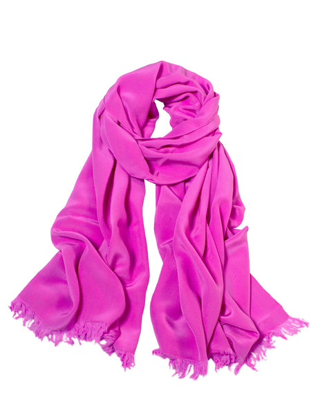 Large Scarf - Deep Pink