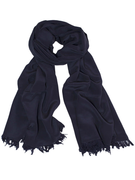 Large Scarf - Navy