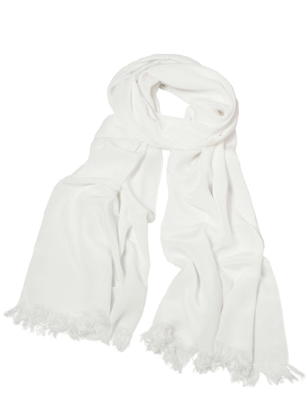 Large Scarf - White