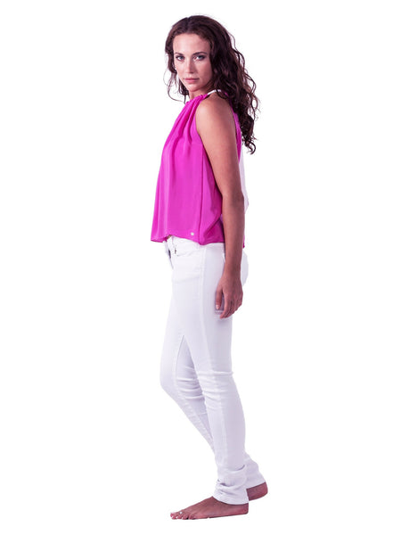 Sleeveless Top - Deep Pink
