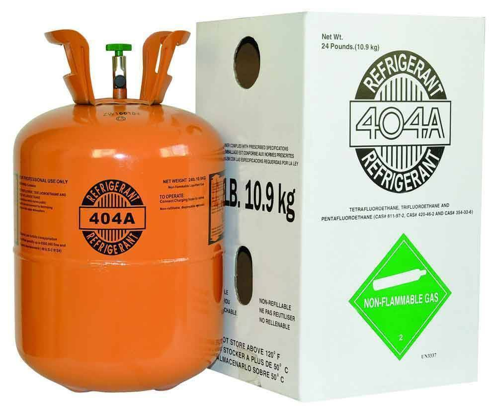 Brand New Pallet of R404A Refrigerant 40 x 24lb Cylinders FREE FREIGHT!