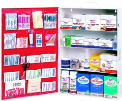 Four-Shelf First Aid Station - Filled (also available empty)