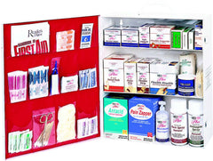Three-Shelf First Aid Station
