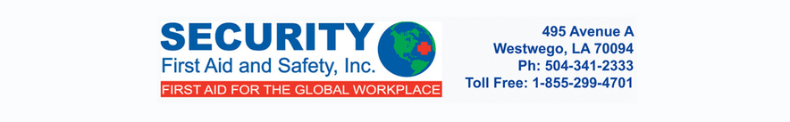 Security First Aid & Safety