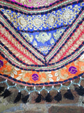 Handmade Kutch Indian Patchwork Tasseled Hippie Shoulder Bag