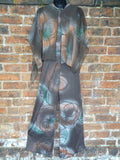 *Caped Crusader* Vintage 1970s Super Funky ILGWU Label Catsuit