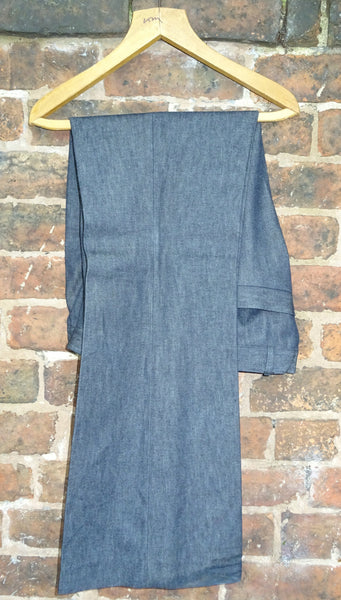 "Vintage ""Acid Test"" English Made Gents Denim Bell-bottoms and Blazer Suit"