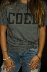 COED Tee (Light Grey)