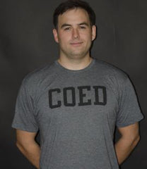 COED Tee (Light Grey) T-Shirt - COED