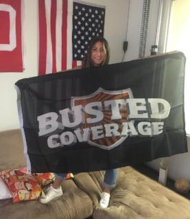Busted Coverage Flag