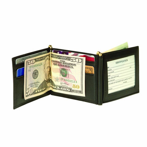 Tactical365 Operation First Response Double ID Window Money Clip Tri-Fold Wallet