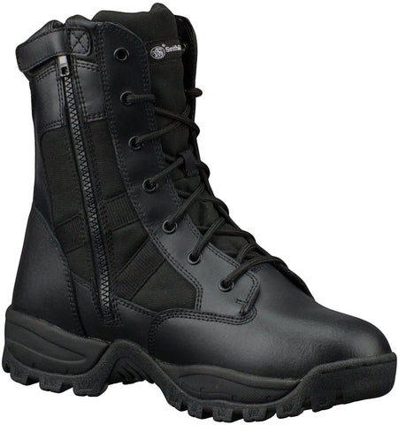 Smith & Wesson Breach 2.0 Waterproof Men's Tactical Side-Zip Boots (Black)