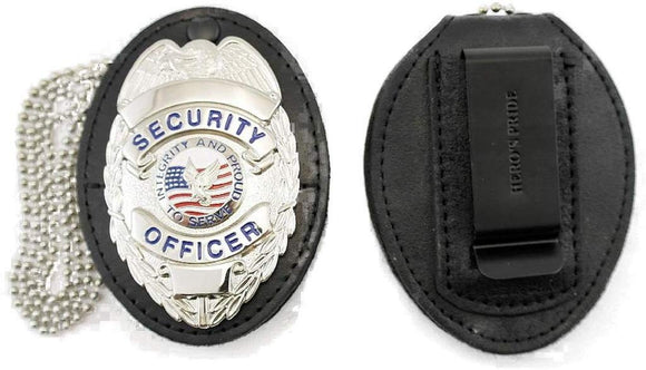 Hero's Pride Universal Oval Badge Holder