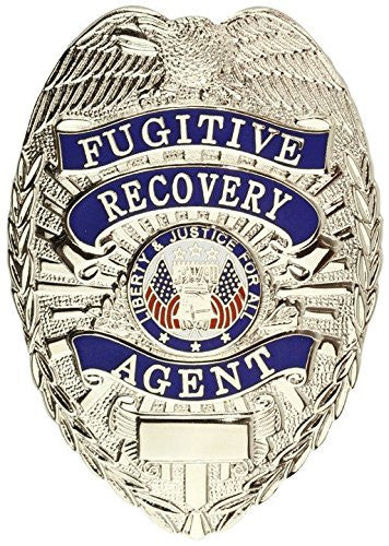 29fccfcc7e7 Tactical 365® Operation First Response Fugitive Recovery Agent Shield Badge