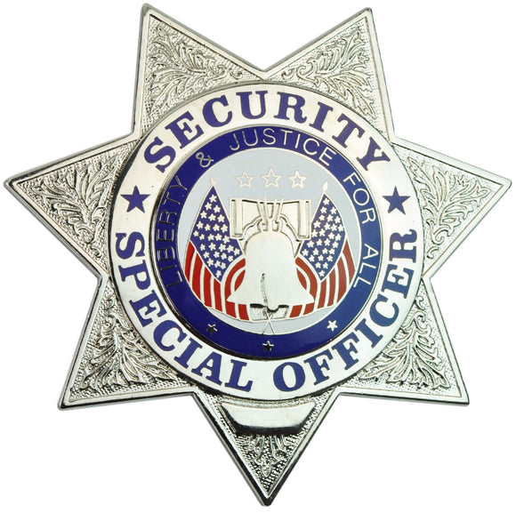 Tactical 365® Operation First Response 7 Point Star Security Special Officer Badge
