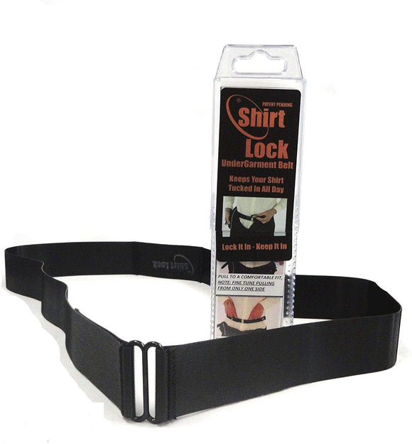 Shirt Lock Belt - Keep Your Pants Up and Your Shirt Down