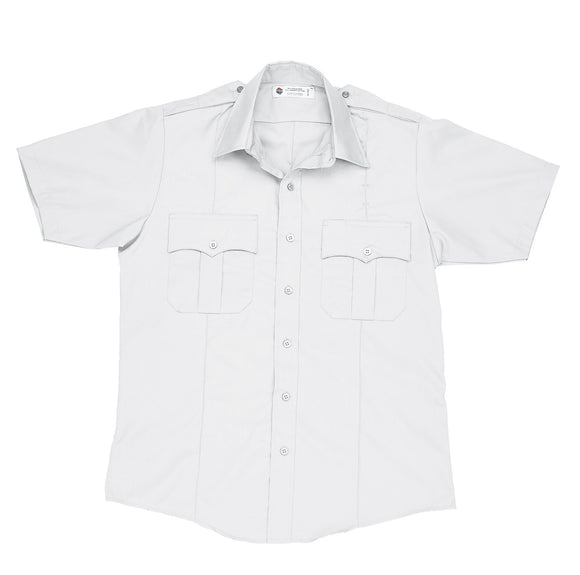 Liberty Uniform Short Sleeve Police Shirt Stain Repellent Uniform Apparel, USA Made
