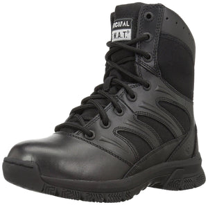 "Original S.W.A.T. Men's Force 8"" Black Military and Tactical Boot - Black"