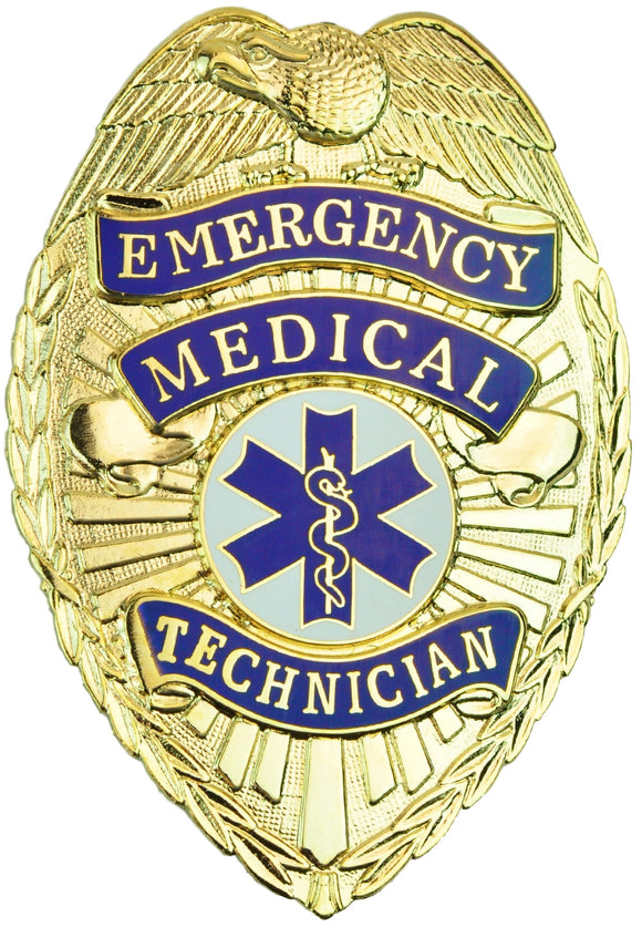 Tactical 365® Operation First Response EMT Emergency Medical Technician Shield Badge