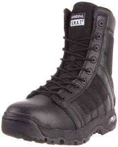 Original S.W.A.T. Men's Metro Air 9 Inch Side-zip Tactical Boot - Black