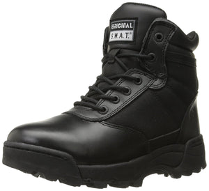 "Original S.W.A.T. Men's Classic 6"" Side-Zip Men's Military & Tactical Boot - Black"