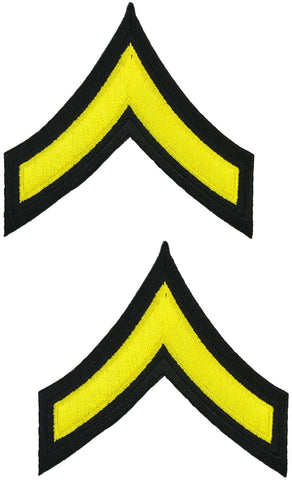 Tactical 365® Operation First Response Pair of Private Rank Uniform Chevrons