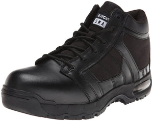 Original S.W.A.T. Men's Metro Air 5 Inch Side-zip Safety Tactical Boot - Black