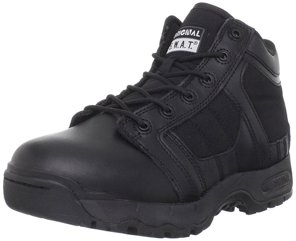 Original S.W.A.T. Men's Metro Air 5 Inch Side Zip Tactical Boot - Black
