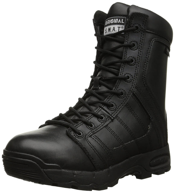 Original S.W.A.T. Men's Metro Air 9-Inch Waterproof Side-Zip Tactical Boot - Black