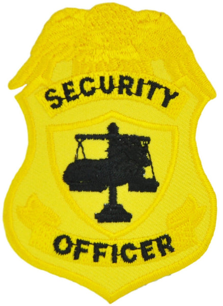 Tactical 365® Operation First Response Security Officer Shield Badge Patch