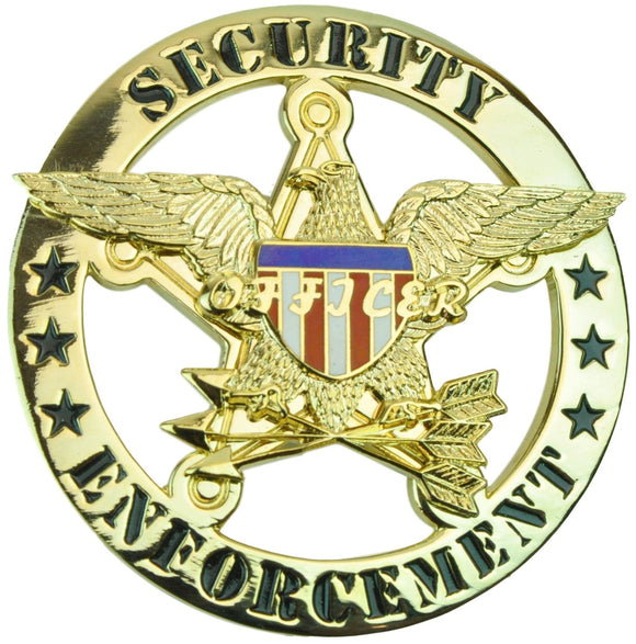 Tactical 365® Operation First Response Security Enforcement Officer Round Badge