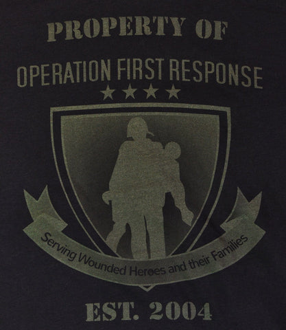 Tactical 365® Operation First Response Property of Graphic T-Shirt