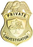 Tactical 365® Operation First Response Private Investigator Shield Badge
