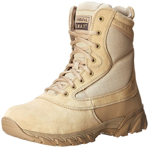 Original S.W.A.T. Men's Chase 9 Inch Side-zip Tactical Boot - Tan