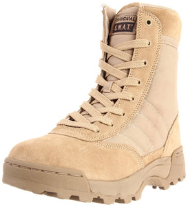 "Original S.W.A.T. Men's Classic 9"" Side Zip Work Boot - Tan"