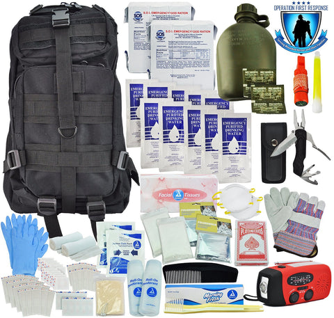 Tactical 365® Operation First Response 6 Day Bug Out Survival Bag (Stage Two)