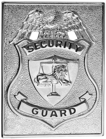 Tactical 365® Operation First Response Security Guard Rectangular Border Shield Badge