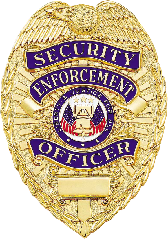A7073 Security Enforcement Officer Badge