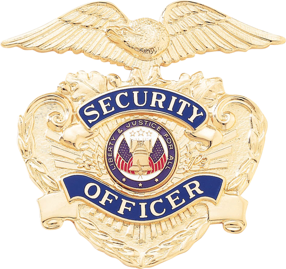 A7121 Security Officer Cap Badge