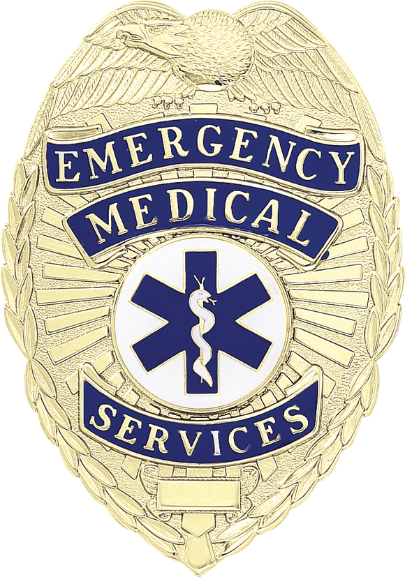 A8770 Emergency Medical Services Shield Badge