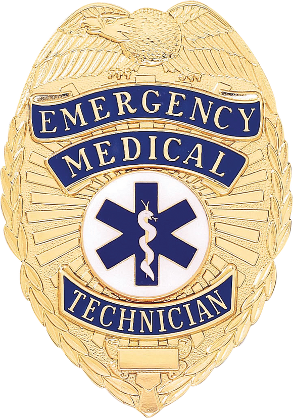 A9005 Emergency Medical Technician Shield Badge