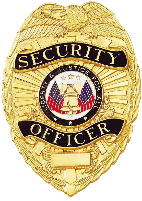 A9037 Security Officer Shield Badge