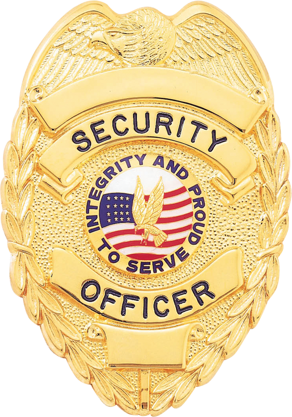 B2078 Security Officer Shield Badge