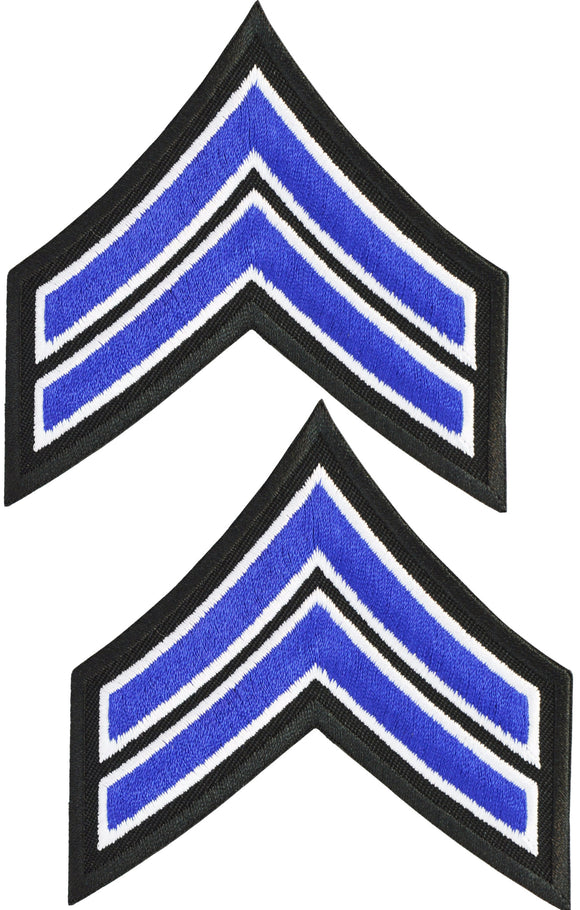 Tactical 365® Operation First Response Pair of Corporal Rank Uniform Chevron Emblem