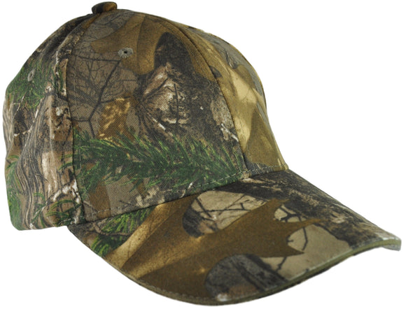 Operation First Response Embroidered Panther Vision Realtree Camo Powercap with 6 LED Lights