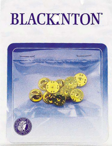 J134 Blackinton Badge Metal Clutches - 10 Pack