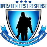 Tactical 365® Operation First Response Volunteer Firefighter Maltese Badge